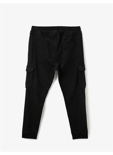Koton Jogger Kargo Pantolon Siyah